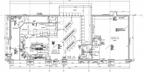Atlanta Convenience Store - New Building Design - Floor Plan